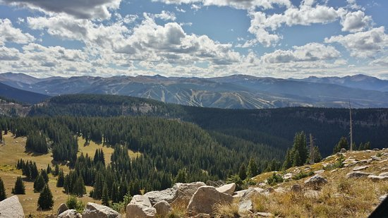 Винтер-Парк, Колорадо: Another amazing view of the Winter Park Resort from the Continental Divide