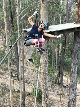 Guldkusten, Australien: Don't fall!