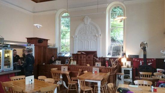 Beddgelert, UK: Caffi Gwynant is a former chapel