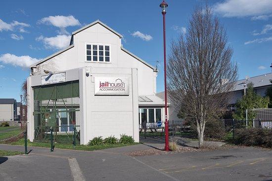 Jailhouse Accommodation: Jailhouse Entrance
