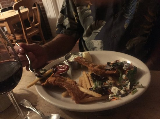 Pacific Way Cafe and Bakery : razor clams