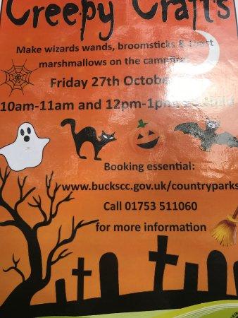 Slough, UK: Autumn 2017 activities Black Park