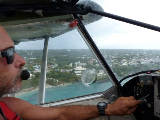 Gosier, Guadalupe: au côté du pilote