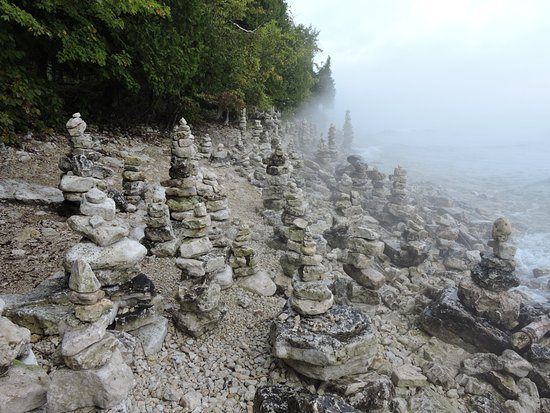Sturgeon Bay, WI: pinnacles