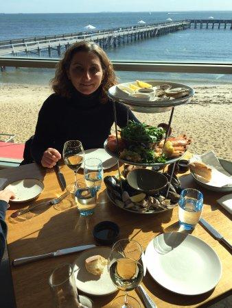 Brighton, Australia: Plateau de fruits de mer