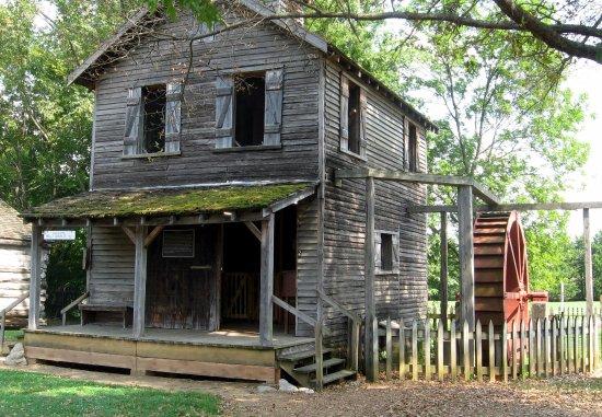 Murfreesboro, TN: Front of grist mill.