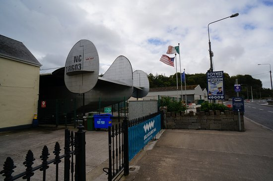 Foynes Flying Boat Museum: Tail