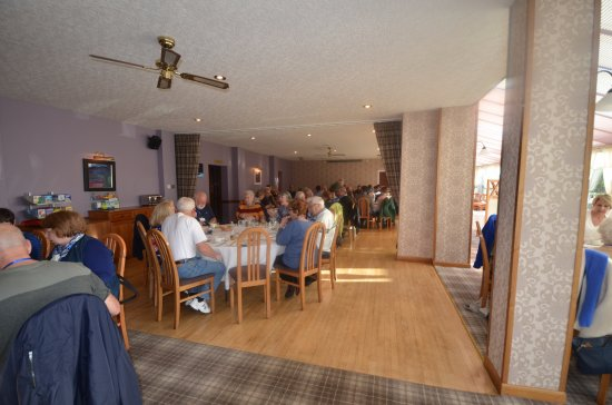 Thurso, UK: The dinning room - excellent service and food