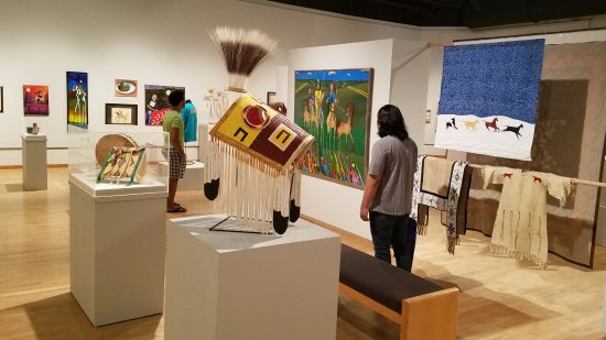 Brookings, SD: Several exhibits each year feature works by acclaimed and emerging Native American artists.