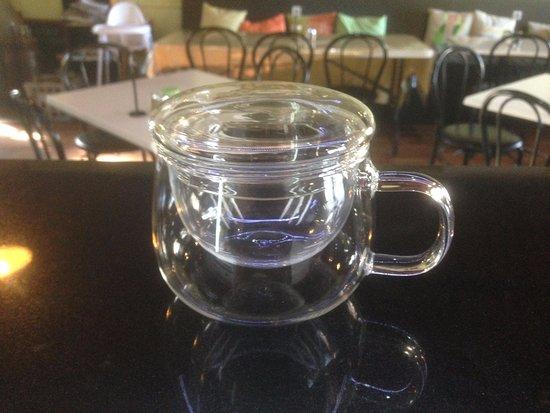 Lancefield, Australien: Our lovely little glasses for Chai Tea