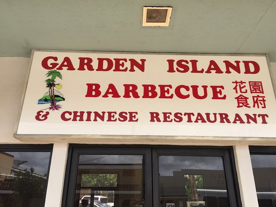 Garden island bbq chinese restaurant lihue omd men om for Asian cuisine kauai
