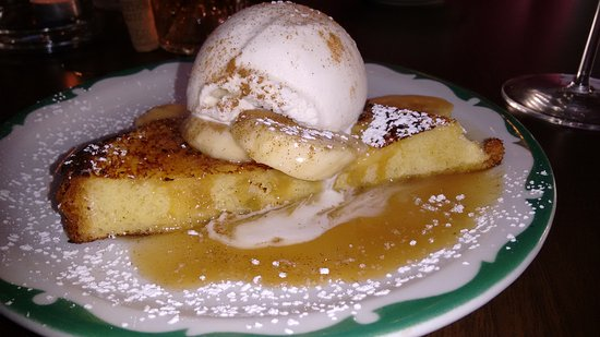Stockton, NJ: Bananas Foster French Toast