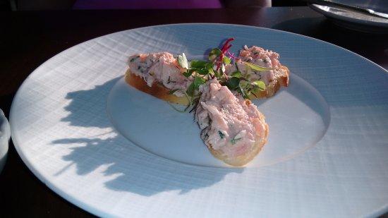 Bistro Rouget: Salmon Rilettes Appetizer