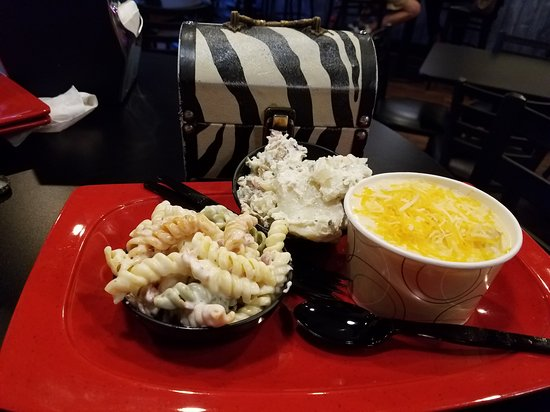 McMinnville, TN: Bacon Ranch Pasta salad, bacon Potatoe salad and potatoe cheese soup