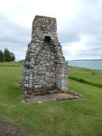 St. Joseph Island, Canada: The old chimney