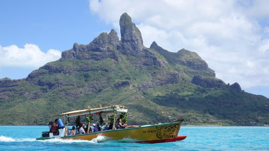 Maohi Nui: Boat used for day trip