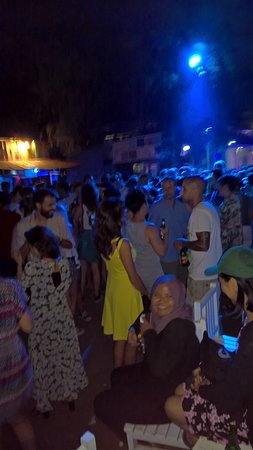 Gili Islands, Indonesia: Partying on the beach at night
