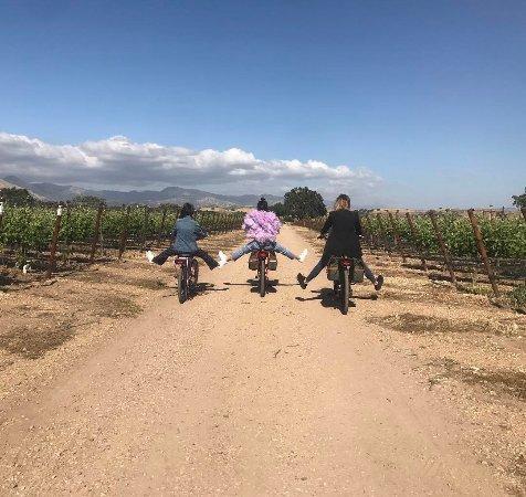 Kardashians! Wine Tasting with Pedego Los Olivos!