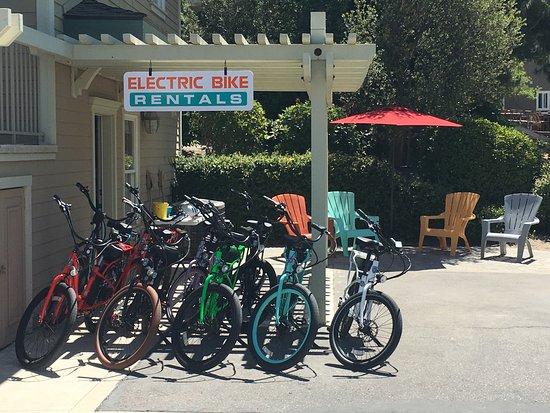 Pedego Los Olivos Bike Shop Downtown Los Olivos