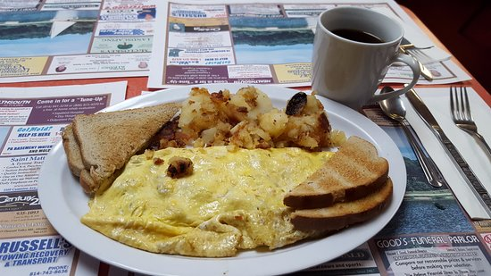 Altoona, PA: All Meat Pillow Omelette