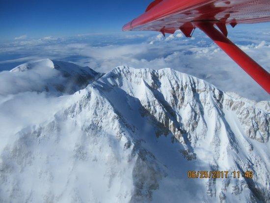 Talkeetna, AK: Circling the summit of Denali
