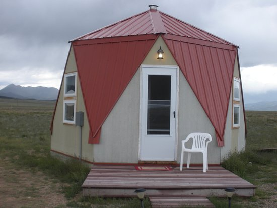 Moffat, CO: Crystal Yurt