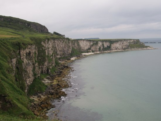Greystones, İrlanda: The northern Ireland coastline