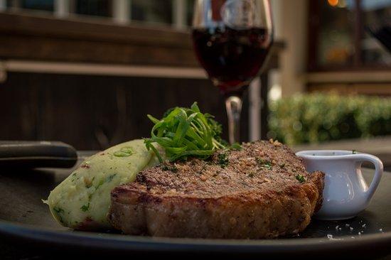 Ellerslie, Nueva Zelanda: Sirloin Steak