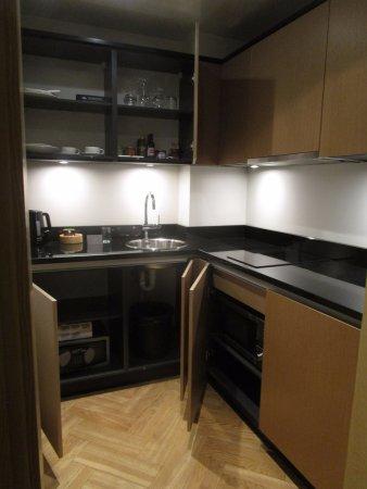 Neiburgs Hotel: Kitchen area