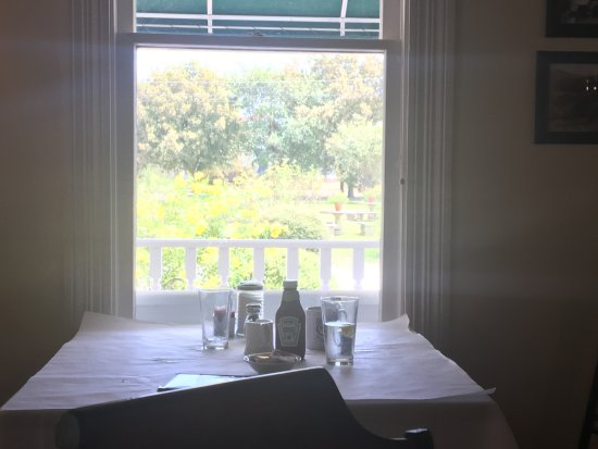 Kingsland, TX: Looking out from dining room
