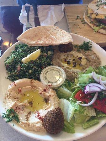 Cafe Rakka Mediterranean Grill: Sampler Platter #5