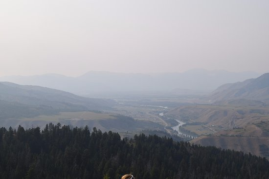 Mill Iron Ranch: the view at the top