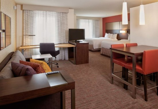 Queen queen studio suite picture of residence inn by - Hilton garden inn bolingbrook il ...