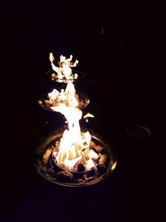 Kananaskis Country, Καναδάς: Propane fire pits during fire ban