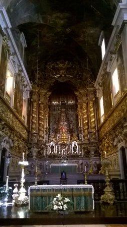 Bairro Alto: Church of Santa Catarina in B.A. Beautiful inside, humble exterior.