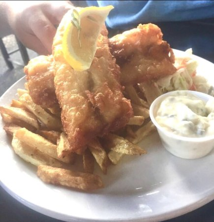 New Westminster, Canada: Fish n Chips