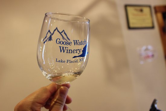 Goose Watch Winery Lake Placid : The glass is always half full :)