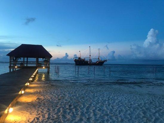 Grand Oasis Palm: atardecer en Cancun