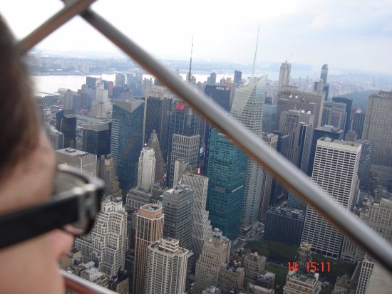 Mirando manhattan desde el piso 86 del empire state for Piso 86 empire state