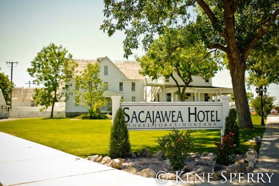 Three Forks, MT: Sacajawea Hotel