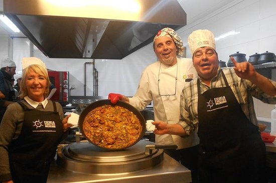 Cours de cuisine Paella végétarienne...