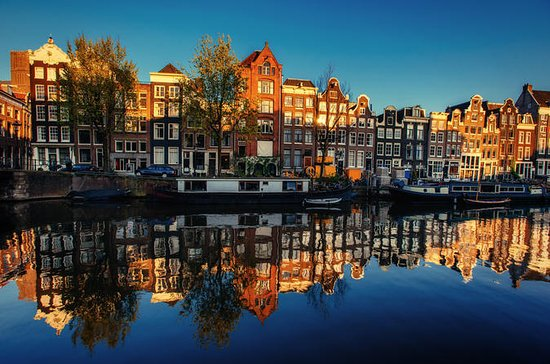 Små grupp Amsterdam Canal Ring ...