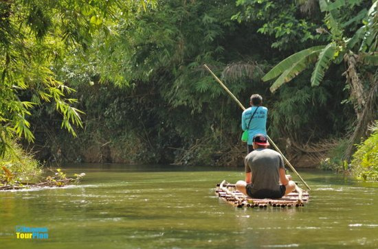 Half Day Bamboo Rafting Tour from...