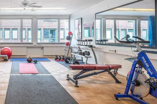 Kristianstad, Swedia: Fitness center