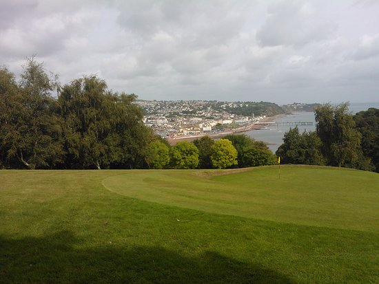 Shaldon, UK: View from first few holes