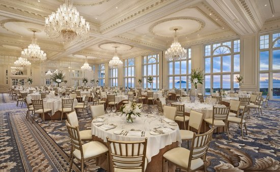 Turnberry, UK: The Donald J. Trump Ballroom