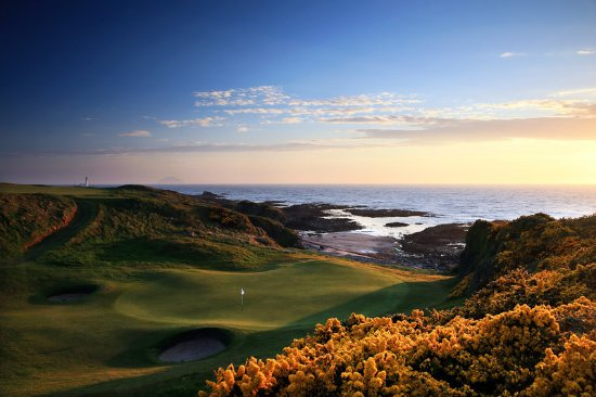 Turnberry, UK: 8 th Hole of the Kintyre