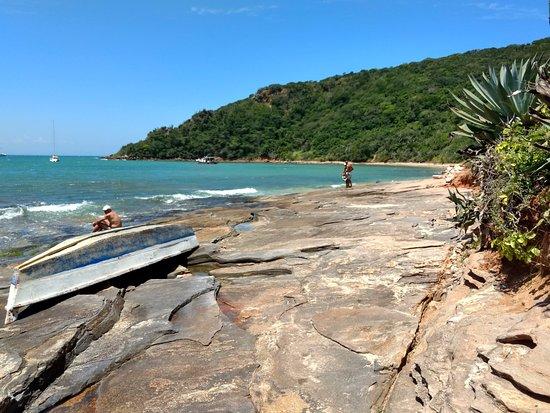 Tartaruga Beach : Vista lateral da praia da Tartaruga