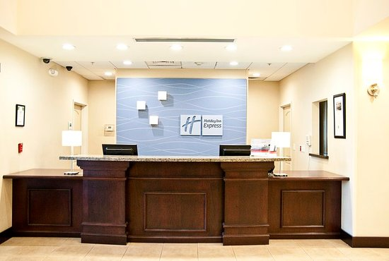 Clovis, Californien: Front Desk