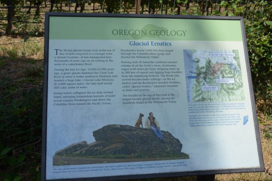 McMinnville, OR: Interpretive sign